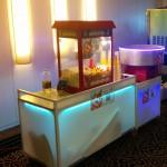 מכונת פופקורן וסוכר במלון דן אכדיה