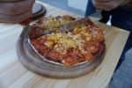 וגם פיצה עם תירס