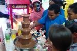 מפל שוקולד באירוע של Actiview