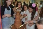 מפל שוקולד במסיבת הסיום, מתוק!